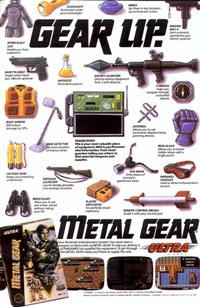 Metal Gear comic book ad