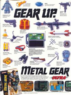 Metal Gear magazine ad
